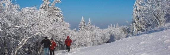 Schneeschuh Saison in der Rhön ist eröffnet