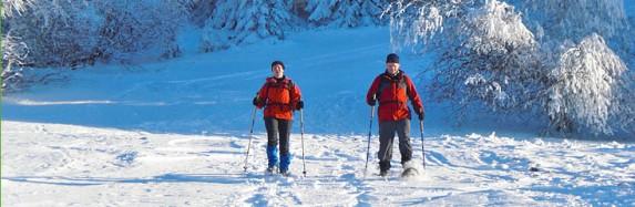 Neue Schneeschuhe für Rhön Adventures